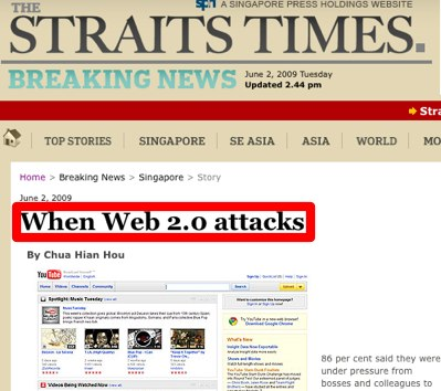 When Web 2.0 attacks